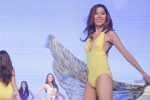 #8 Jade Dy; candidates wore swimwear designed by Yvonne Quisumbing, Hajji Godinez for SALMALTO, Philip Tampus, Vania Romoff and OJ Hofer. Photo was taken during Miss Resort's World Final Runway competition at the New Port Performing Arts Theater Resort's World Manila last Nov 23, 2012. Photo by Jude Bautista