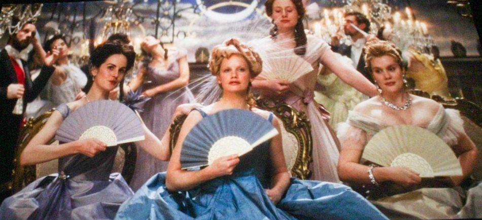 Ruth Wilson (Princess Betsy Tverskoy) Center in blue. ANNA KARENINA is exclusively shown in Resort's World Manila, Megaworld Lifestyle malls such as Eastwood City and Lucky Chinatown Mall.